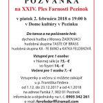 XXIV. Ples Farnosti Pezinok